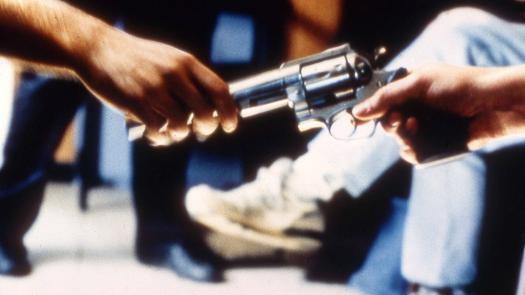 Gun being passed - Johnny Magee