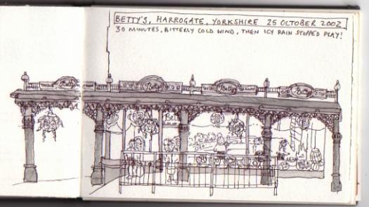 Betty's, Harrogate. - Louise Batchelor