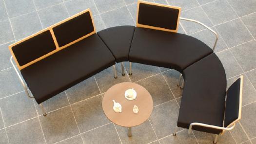 """""""Modular"""" reception seating - ACF Office Seating - David Grimshaw"""