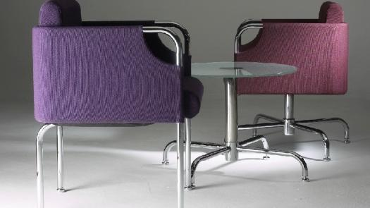 """Barca"" chairs & table - David Grimshaw"