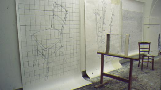drawing using the 'veil'