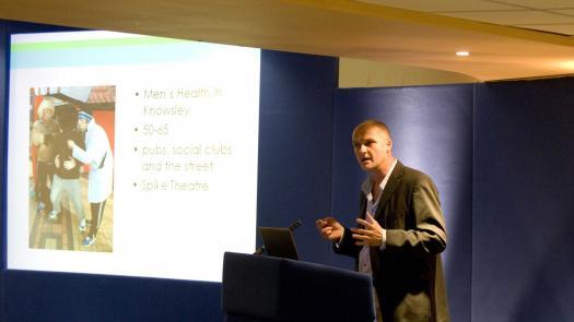 The North West, NHS Health Trainer Conference, Nov 06 - Clive Parkinson