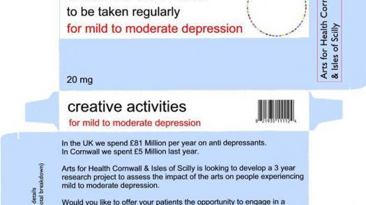 Arts on Prescription - Clive Parkinson