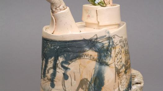 'Chimera' teapot. 2004 - Stephen Dixon