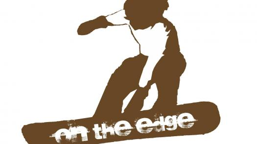 On the Edge Conference Logo - Joan Ormrod
