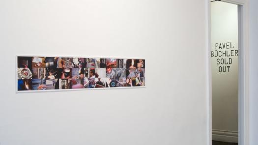 Work (All the cigarette breaks, Max Wigram Gallery, January 2008) - Pavel Büchler