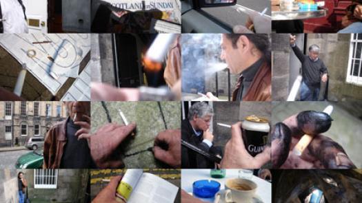 Work (All the cigarette breaks, Sleeper, Edinburgh, July 2008) - Pavel Büchler