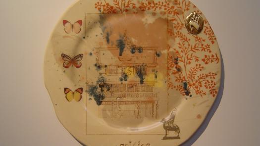 'Soldier' plate - Stephen Dixon