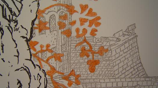 Installation drawing detail - Stephen Dixon