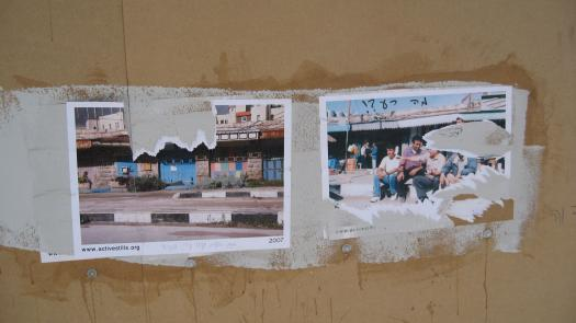 ActiveStills display, Tel Aviv, 2007 - Simon Faulkner