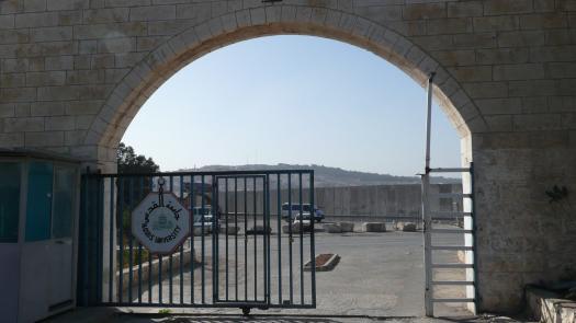 West Bank Wall, Al Quds University, Abu Dis, 2008 - Simon Faulkner