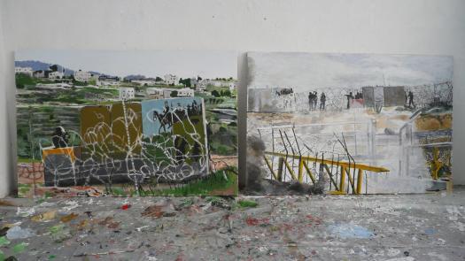 David Reeb's studio, Tel Aviv, 2008 - Simon Faulkner