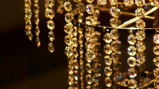 Garden of Light chandelier - Becky Sobell