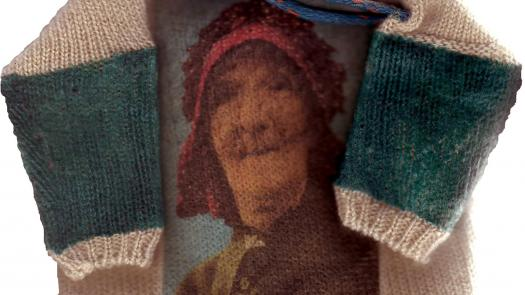 Staithes bonnet gansey - Annie Shaw