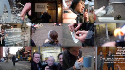 Work (All the cigarette breaks, Castlefield Gallery, Manchester, Decenber 2009) - Pavel Büchler