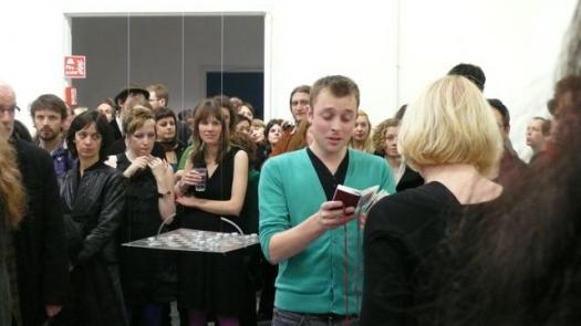 Pattern Book, performance - Sally Morfill