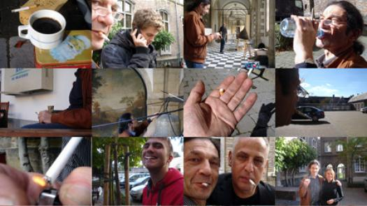 Work (All the cigarette breaks, Grand Seminary, Bruges, October 2010) - Pavel Büchler