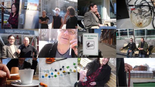 Work (All the cigarette breaks, NorrlandsOperan, Umea, May 2011) - Pavel Büchler
