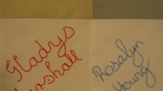 Blackpool wedding quilt - Lynn Setterington