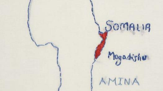 ESOL class map of home - Lynn Setterington