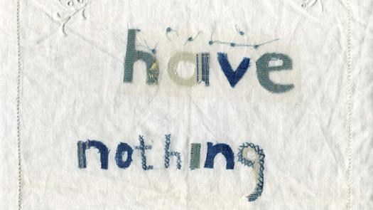 Have Nothing; Sample. - Lesley Mitchison
