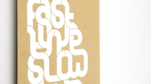 Fast type slow type catalogue - Joe McCullagh