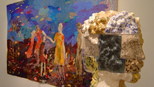 Janus in 'Allegory' exhibition - Stephen Dixon