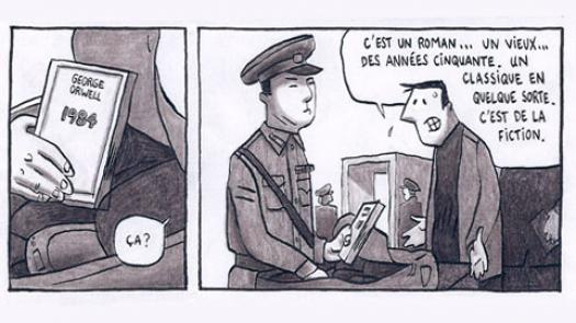 Guy Delisle: storyboard from 'Pyongyang' - Beccy Kennedy
