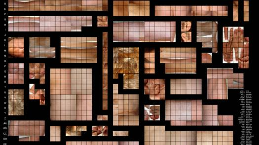 Bauplan, 2010, microfiche print - Dave Griffiths