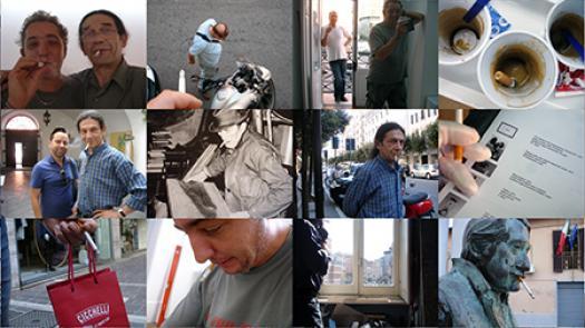 Work (All the cigarette breaks, Vistamare Gallery, Pescara, April / September 2013) - Pavel Büchler