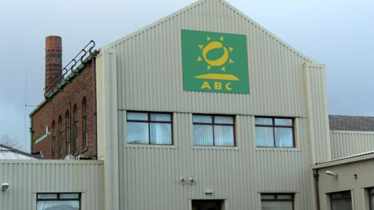 ABC Wax headquarters at Newton Bank