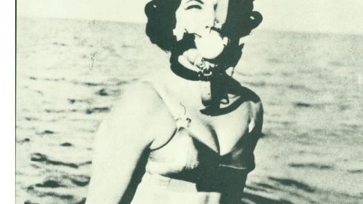 JG Ballard's spoof adverts were part of the visual literature of New Worlds - David Brittain