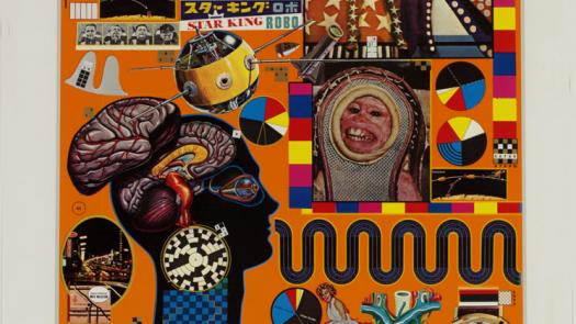 Eduardo Paolozzi, from the series, ZEEP 1970 - David Brittain
