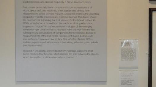 Explanatory text, Scottish National Gallery of Modern Art - David Brittain