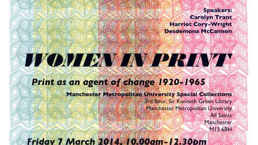 Women in Print poster