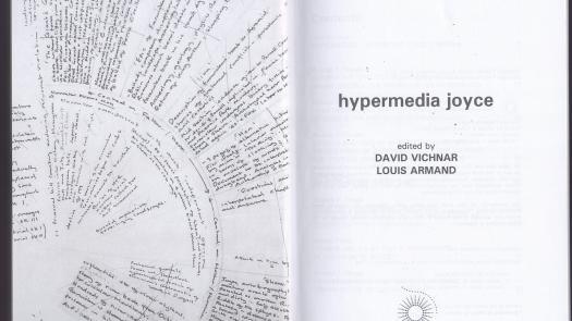Hypermedia Joyce frontispiece - Clinton Cahill