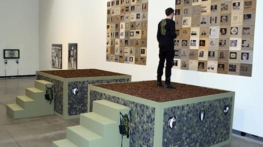 01. 2014: AUDINT – Martial Hauntology (Museum of Contemporary Art, Herford, Germany) - Toby Heys