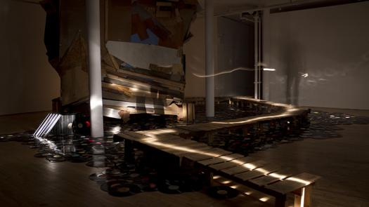 01. 2011: AUDINT - Dead Record Office (Art in General, New York, USA) - Toby Heys