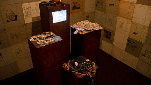 04. 2011: AUDINT - Dead Record Office (Art in General, New York, USA) - Toby Heys