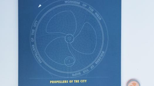 Propellers of the City - publication - Lucy Gannon