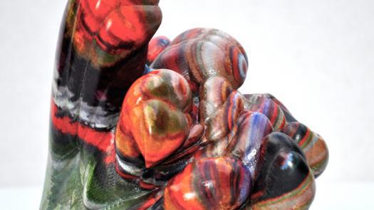 1. 3D colour print - Keith Brown