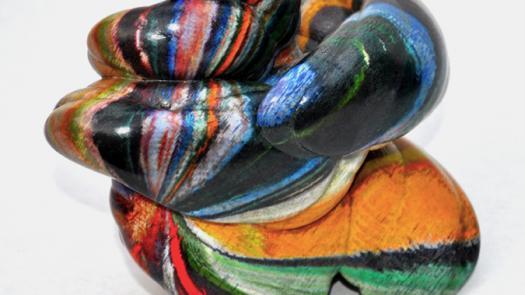 2. 3D colour print - Keith Brown