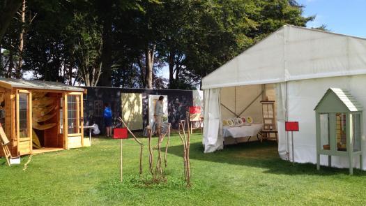 Outside Tea Tent - Liz Wheeldon-Wyatt