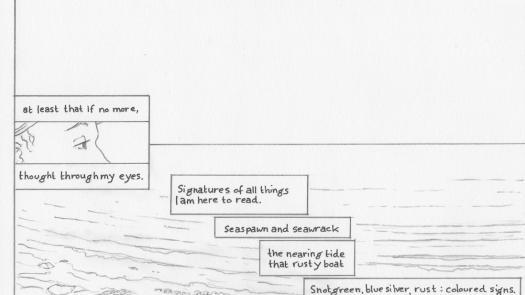 Proteus p. 4 Pencil layout - Clinton Cahill