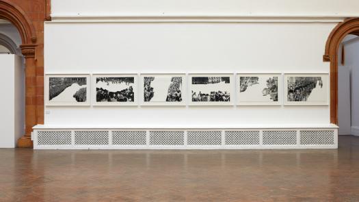 Urban Psychosis; John Baldassari 'Crowds of Shape with Reason Missing'