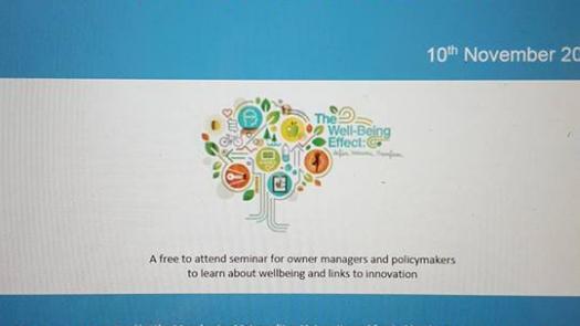 ESRC Seminar: Entrepreneurship, Innovation and Well-being