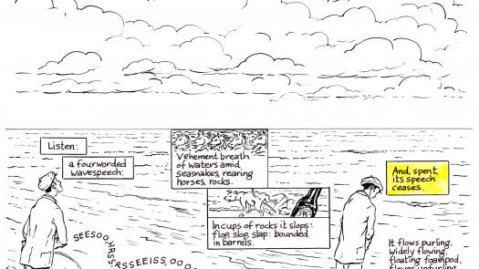 Proteus page 100. production drawing