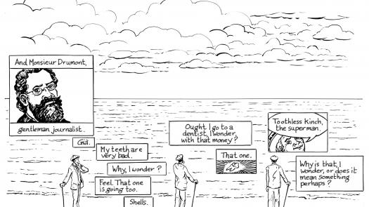 Proteus page 108. production drawing