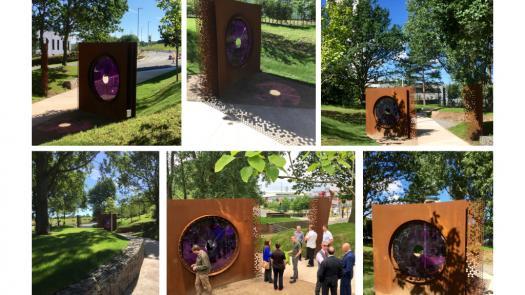 The Violet Gateway - Lucy Gannon