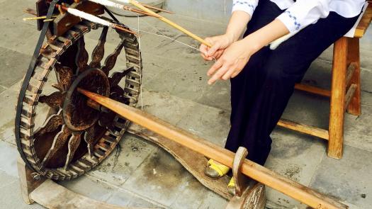 Spinning wheel - Martyn Evans